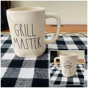 Rae Dunn Grill Master Double Sided Mug
